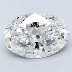 2.02-Carat Oval Diamond Very Good G VS2