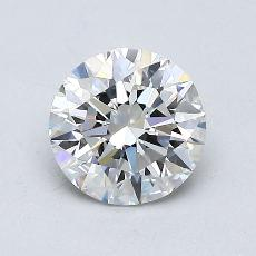 Recommended Stone #4: 0,90-Carat Round Cut