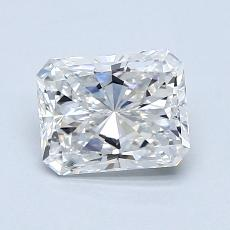 1.01-Carat Radiant Diamond Very Good D VS1