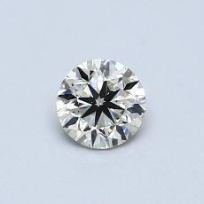 推荐宝石 3:0.46克拉圆形切割钻石