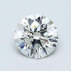 Piedra recomendada 4: Talla redonda de 0.90 quilates