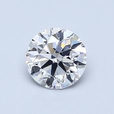 Recommended Stone #4: 0,77-Carat Round Cut