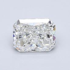 Recommended Stone #4: 1.05-Carat Radiant Cut