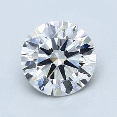 1.25-Carat Round Diamond Ideal G VS2