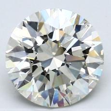 推薦鑽石 #3: 2.54  克拉圓形切割