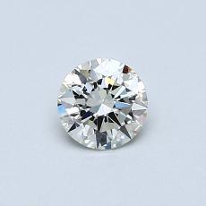 0,40 Carat Rond Diamond Idéale K VS1