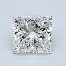 1,50-Carat Princess Diamond Very Good G VS1