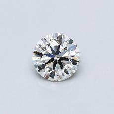 推荐宝石 3:0.36 克拉圆形切割