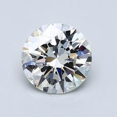 1.00 Carat 圓形 Diamond 理想 I VVS1