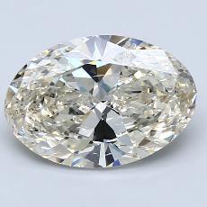 推荐宝石 2:3.03克拉椭圆形切割钻石