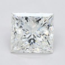 Pierre recommandée n°2: Diamant taille princesse 2,01 carat