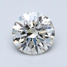 1,30 Carat Rond Diamond Idéale K VS2
