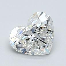 Recommended Stone #3: 1.21-Carat Heart Shaped