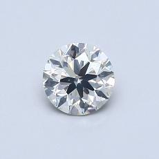 推荐宝石 3:0.50 克拉圆形切割