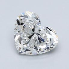 オススメの石No.3:1.30 Carat Heart Shaped