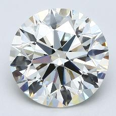 Recommended Stone #3: 3.09-Carat Round Cut