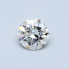 0.50-Carat Round Diamond Very Good I SI2