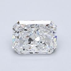 Recommended Stone #2: 1.08-Carat Radiant Cut