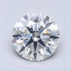 目前的寶石: 1.02  克拉圓形切割