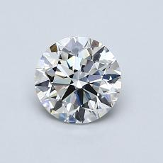 Recommended Stone #3: 0.76-Carat Round Cut
