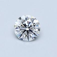 Recommended Stone #3: 0.49-Carat Round Cut
