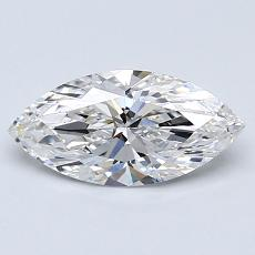 Recommended Stone #1: 0.91-Carat Marquise Cut
