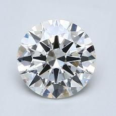 1.51-Carat Round Diamond Ideal H VS2