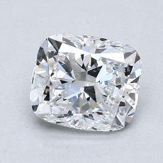 推薦鑽石 #3: 1.21 克拉墊形切割