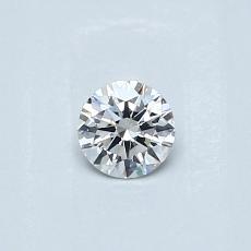 0.23 Carat 圆形 Diamond 理想 F VS2