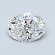 推薦鑽石 #4: 1.01  克拉橢圓形切割