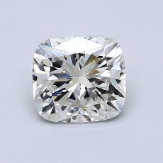 1.02-Carat Cushion Diamond Very Good J VS2