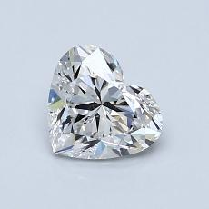 オススメの石No.1:0.80 Carat Heart Shaped