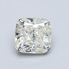 1.00-Carat Cushion Diamond Very Good K VVS2
