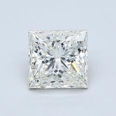 1.02 Carat 公主方形 Diamond 非常好 K SI1
