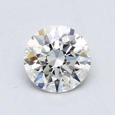 1,00 Carat Rond Diamond Idéale G VVS2