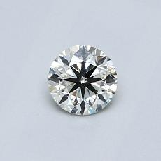 Recommended Stone #4: 0.27-Carat Round Cut
