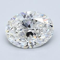 推薦鑽石 #2: 1.51  克拉橢圓形切割