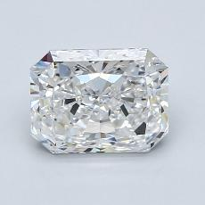 Recommended Stone #2: 1.51-Carat Radiant Cut