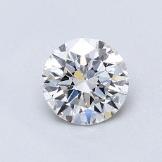 Recommended Stone #2: 0.77-Carat Round Cut