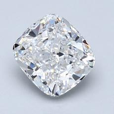 推薦鑽石 #1: 1.61 克拉墊形切割