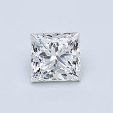 推荐宝石 2:0.70 克拉公主方型切割