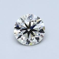 推荐宝石 3:0.80 克拉圆形切割