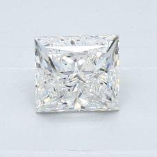 Recommended Stone #3: 0.90-Carat Princess Cut