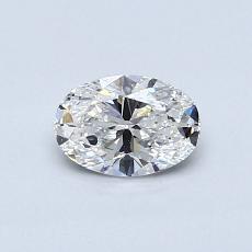 推荐宝石 2:0.50 克拉椭圆形切割