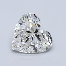 Recommended Stone #3: 1.08-Carat Heart Shaped