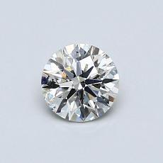 推薦鑽石 #4: 0.49  克拉圓形切割
