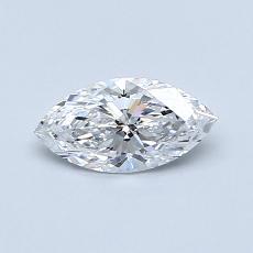 推荐宝石 3:0.51 克拉马眼形切割