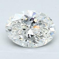 Recommended Stone #4: 1,72-Carat Oval Cut