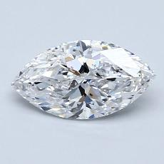 Recommended Stone #2: 1.00-Carat Marquise Cut