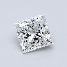 Recommended Stone #2: 0.83-Carat Princess Cut